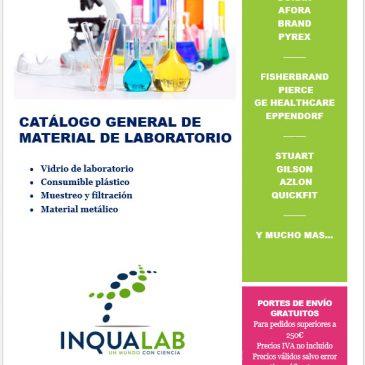 Catálogo general de material de laboratorio 2018